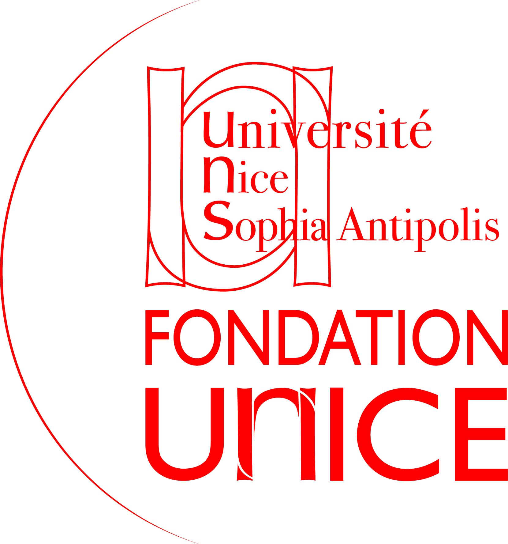 Logo Fondation - Fondation UNICE (ROUGE)