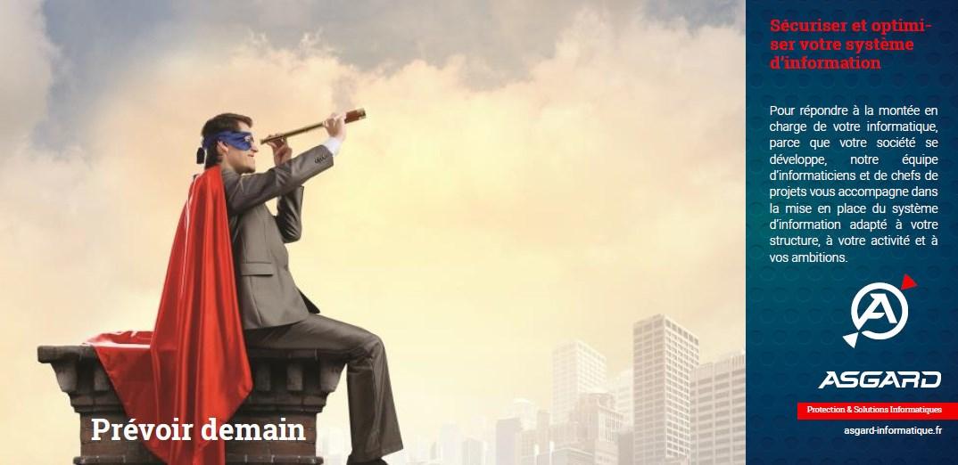 ASGARD INFORMATIQUE – Optimise et sécurise le centre opérationnel de l'activité d'une entreprise : Son système d'information