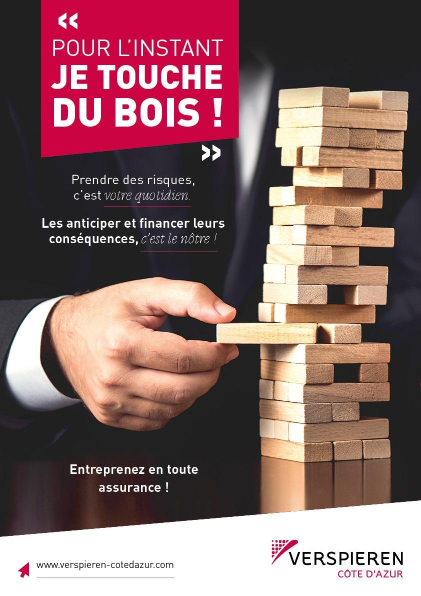 VERSPIEREN CÔTE D'AZUR : 1er courtier en assurances à intervenir exclusivement sur les risques des entreprises.