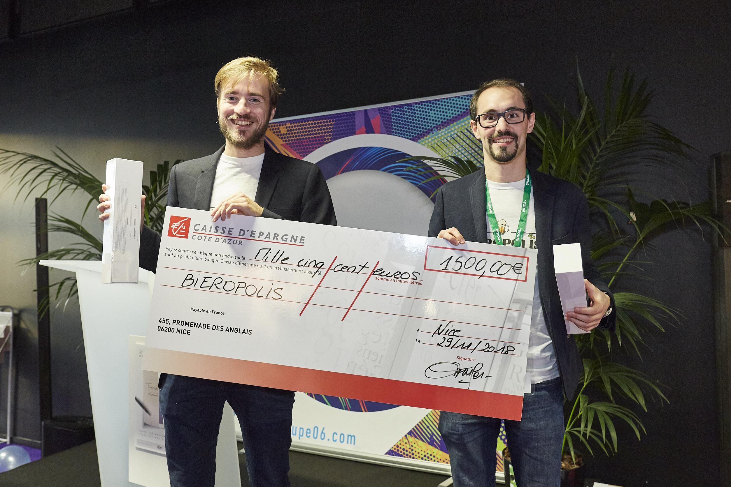 Prix de la Jeune Entreprise 2018