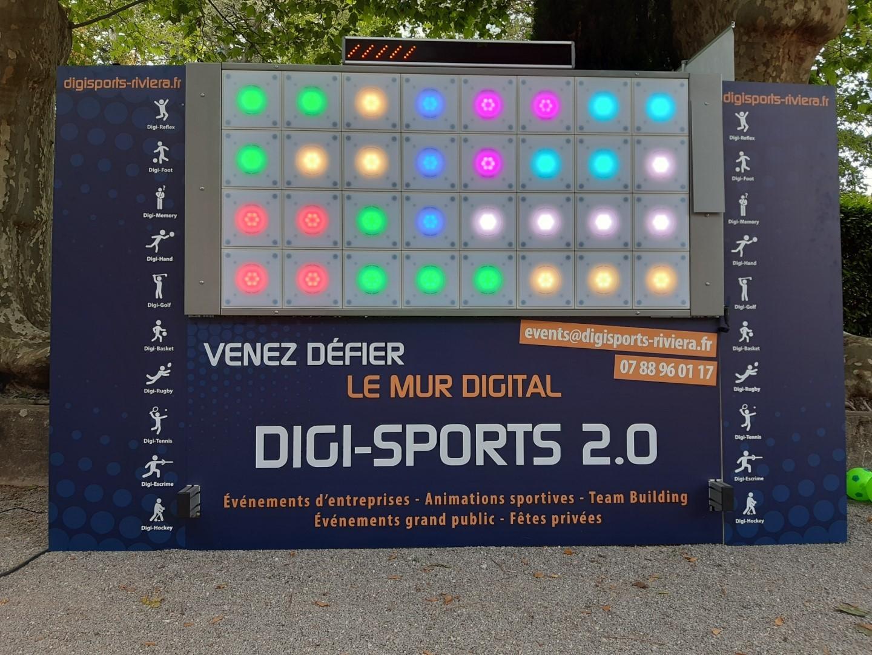 Photo mur Digi-Sports Riviera 2019